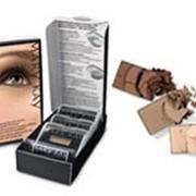 Набор минеральных теней для век Гипнотические ореховые глаза фото