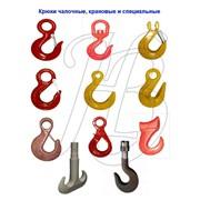 Крюки для изготовления строп (крановые, чекерные) фото