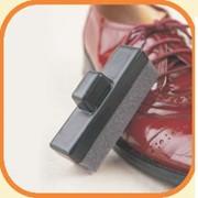 Губка для чистки обуви фото