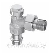 Радиаторный запорно-регулирующий клапан . фото