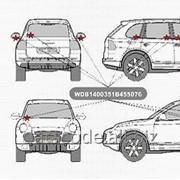 Комплект для самостоятельной маркировки стекол автомобиля. фото