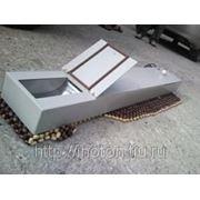 Механический лоток для АЗС (для передачи денег) фото