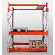 Стеллаж тяжелый складской паллетный СТСМ 4000х1960х1000