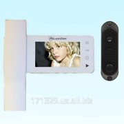 Видеодомофон PoliceCam PC-446R0 + вызывная панель DVC4Q фото