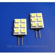 Автомобильные светодиодные лампы G4 6SMD фото