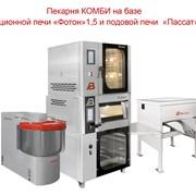 Конвекционная печь Мини пекарня фото