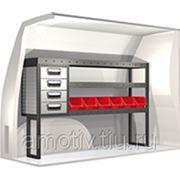 Стеллаж для Volkswagen Caddy Арт. No: 20100184 Modul-System фото