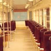 Салон трамвайного вагона фото