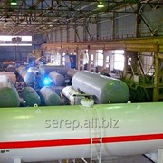 Резервуар для сжиженных углеводородных газов (СУГ) фото
