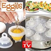 Формы для варки яиц без скорлупы Eggies (Эггиз) 6шт. фото