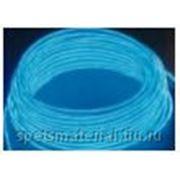 Световой провод повышенной яркости IV-поколения, диаметр 2.6мм,цвет: синий, м.п. фото