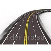 Дорожная краска АК 503 желтая RAL 1007 28кг фото