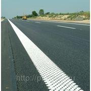 Термопластик для разметки дорог со стеклошариком фото