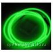 Световой провод повышенной яркости III-поколения, диаметр 1.4мм, цвет: зеленый, м.п. фото