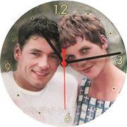 Часы настенные, настольные с фото фото