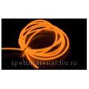 Световой провод повышенной яркости III-поколения, диаметр 3.2мм,цвет: оранжевый, м.п. фото