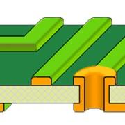 Двухсторонняя печатная плата (ДПП) фото