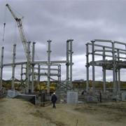 Монтаж сборных бетонных и железобетонных конструкций фото