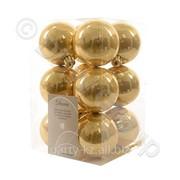 Декор Шар золотистый глянцев. эмаль фото