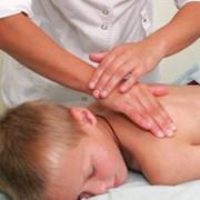Лечебный массаж детский фото