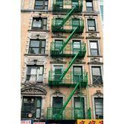 наружная пожарная лестница фото