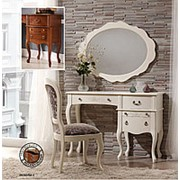 Письменный стол/Туалетный столик Panamar Blanco 116х81х40см. арт.797.120Р Blanco фото
