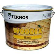 WOODEX BASE TEKNOS (ВУДЕКС БЕЙС ТЕКНОС), 10л - Грунтовочный антисептик для наружных работ. фото