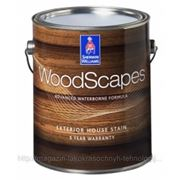 WoodScapes® Exterior Semi-Transparent Stain - полиуретановая фасадная пропитка для дерева