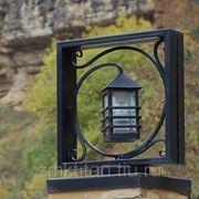 Светильники кованные стоевые фото
