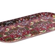Блюдо овальное 33х11.5см B1194-A07023R Strawberry Thief (red) фото