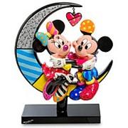 """Скульптура """"Микки и Минни на луне"""" 18х24х7см. арт.4059575 Disney фото"""