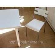 Аренда белых стульев фото