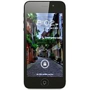 "Смартфон точная копия iphone 5 x5, мультитач 4"", Android 4, WiFi, 2 sim, камера 2 Мп, Мtk 6573. фото"