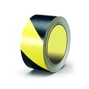 Лента оградительная (желто-черная) фото