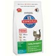 Корм для котов Hill's Science Plan Kitten Healthy Development для котят до 1 года с тунцом 400 гр фото