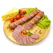 Колбаса варено-копченая Ароматная микс, салями бессортовая фото