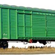 Перевозка вагонами грозовыми крытыми. Вагоны грузовые крытые Киев. фото