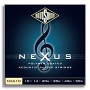 Струны для акустических гитар ROTOSOUND NXA10 фото