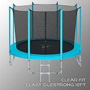 Батут Clear Fit ElastiqueStrong 12ft фото