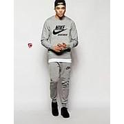 Мужской спортивный костюм Найк, Nike, серый фото