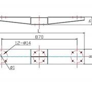 Крепежная платформа (Типа КПЛ) фото