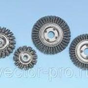 Щётки дисковые для одноручных углошлифовальных и прямых машинок из фото