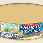 Печень трески по мурмански ТМ Рыбоведовъ 240г №3 фото