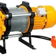 Лебедки электрические KCD 500 кг, канатоемкость 100 м, 220 В. фото