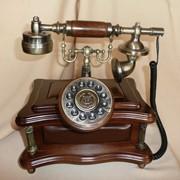 Ретро-телефон фото