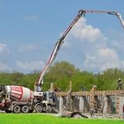Подача бетона ботононасосом фото