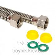Шланг газовый нержавейка 1/2 дюйм ВВ 2,5м ASCO, арт.21885 фото