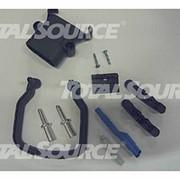Штепсельная вилка DIN 80A,серая маркировка,с подачей воздуха,кислотостойкие,отдельная ручка фото