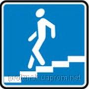 Дорожные знаки Информационно-указательные знаки Подземный пешеходный переход 5.36.1 фото