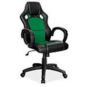 Кресло компьютерное Signal Q-103 (черно-зеленый) фото
